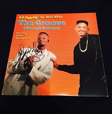 DJ Jazzy Jeff Autographed The Groove Vinyl Record Album/ JSA