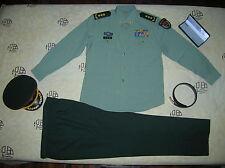 Obsolete 07's series China PLA CMC 3 Stars General Summer Long-sleeved Uniform