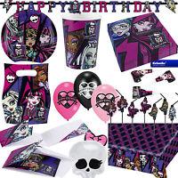 * MONSTER HIGH 2 * Alles zum Kindergeburtstag - Geburtstag Party Deko Motto 2014