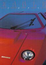 Eagle 1984-85 Regno Unito delle vendite sul mercato opuscolo Pack 2 +2 SS Series II RV