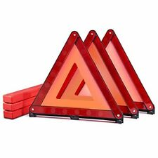 New listing Safety Triangles - Essential Roadside Safety - 3 Pack Foldable