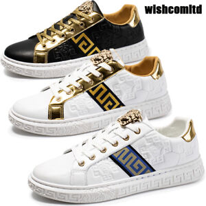Mens Lace up Trainers Sports Sneakers Casual Running Sneaker Shoes Size [UK 12]
