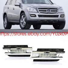 For Mercedes-Benz X164 GL450 07-09 2x White LED DRL Daytime Fog Light Run lamp
