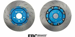 EBC 2-Piece Front Brake Discs – Pair – Ford Focus RS MK3 – Anodized Blue