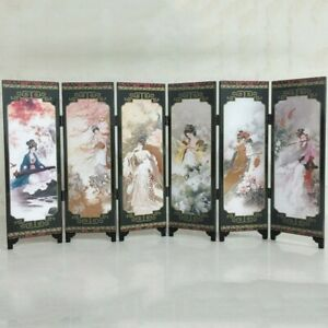 Privacy Room Screen Divider Frame 48*24*0.6cm Oriental Partition Chinese
