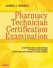 Mosby's Review for the Pharmacy Technician Certification Examination PTCE new