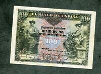 BILLETE 100 pesetas 1906  SIN SERIE 6489452   EBC -