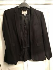 H&M Black Tailored Blazer Size 14