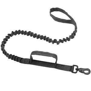 Leash with Tail Damper 110/150 canicross Bicycle Dog Sport Tactical Dog Leash