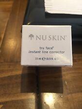 Nu Skin Tru Face Instant Line Corrector Wrinkle Gel Anti-Aging Face Lift RRP £64