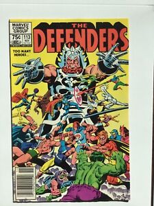 Defenders 113 Canadian Price Variant  1982