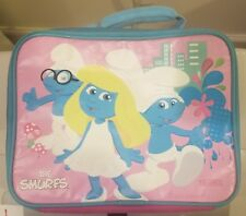 Smurfette And Smurf Pink Lunch Bag