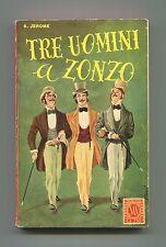 K.Jerome # TRE UOMINI A ZONZO # SAIE 1955 La duecentocinquanta SAS n.9 Libro