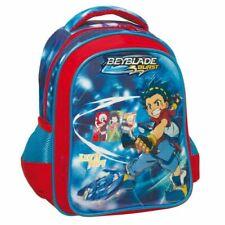 Kids Backpack Anime Beyblade Burst Evolution Prints Children School Bags Canvas