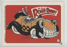 1987 Topps Who framed Stickers #5 Car and Roger Rabbit Non-Sports Card 0d8