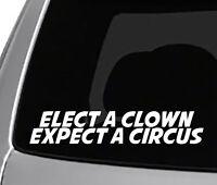 3M Graphics  Funny Attention Max Capacity Clown Car Sticker Truck Window Sticker