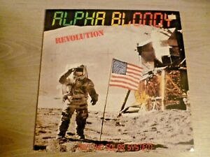 ALPHA BLONDY AND THE SOLAR SYSTEM : REVOLUTION (LP) - bob marley - peter tosh