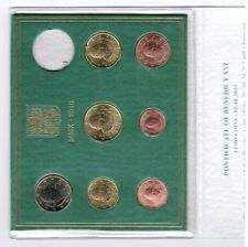 Vatican officiel Ensemble de cours 2010 O H N E Pièce de monnaie neuf