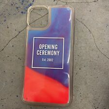 OPENING CEREMONY TRANSLUCENT SAND IPHONE 11 pro Case GLOW IN THE DARK