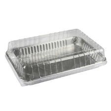 """New listing Pactiv 1/4 Sheet Cake Pan Silver 12.812"""" L x 8.81"""" W x 1.25"""" H 