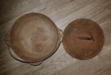 Vintage Griswold Cast Iron #8 Tite Top Dutch Oven with cover