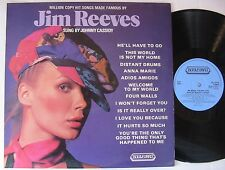 JOHNNY CASSIDY (LP 33T)  JIM REEVES GOLDEN HITS SUNG BY JOHNNY CASSIDY