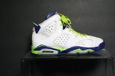 4972f6df3fe Nike Air Jordan 6 Retro Fierce Green Sneaker 14' Athletic Hip Multi 6Y Youth