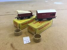 Triang TT Excellent Lot 27 T.177 Open Truck With Timber Load & Horse Box Boxed