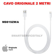 Cavo Apple Lightning 2 Metri MD819 ORIGINALE per iPhone 5 6 S 7 SE 8 X PLUS