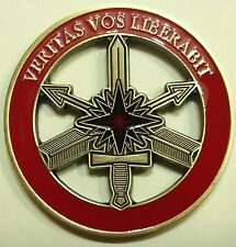 Central Intelligence Agency CIA Rapid Response Team RRT Ruby Red Challenge Coin