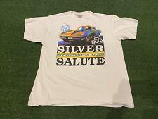 Vintage 1992 Corvette T-shirt Bloomington Gold Silver Salute Anniversary Size XL