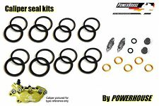 Brembo Goldline front brake caliper seal repair kit single pad pin fixing