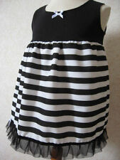 Unbranded Striped Dresses (0-24 Months) for Girls