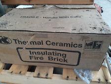 Insulating Fire Brick -  Morgan Thermal Ceramics - JM28 high rated bricks
