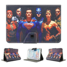 Kids Cartoon Heros Flip Leather Cover Case For Universal 7