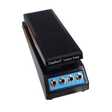 Pedal de volumen de sonido estéreo de guitarra Pedal de efecto de banda de