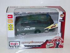 Maisto Volkswagen Van Samba Polizei VW Bus RC 1:24 Neu OVP