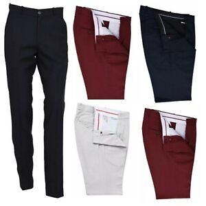 Men's Retro Sta Press Trousers Classic Slim Fit Vintage 60s 70s Mod Pants Slack