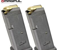 TWO MAGPUL mags For GLOCK 19 26 9mm 10 Round MAGAZINES 907 BLK *FAST SHIP*!!