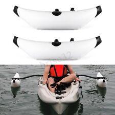 2PCS Kayak PVC Inflatable Outrigger Kayak Canoe Fishing Boat Stabilizer System
