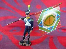 Porte drapeau Hachette N°3 - 9e demi-brig. Infanterie légère 1802 - Flag bearer