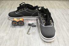 Heelys Launch Knit HE100211H Wheeled Skate Shoes, Little Boys Size 13, Black NEW