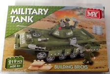 M.Y Military Tank Building Bricks 219pcs new Army Construction set 6+ RRP £20