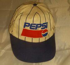 Pepsi Pin Stripe Baseball Hat Cap