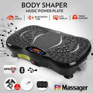 Vibration Plate Bluetooth Music Massage Oscillating Fitness Body Shaker Machine