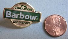New Authentic Barbour 125th Anniversary Pin Badge