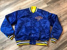 St. Louis Blues Starter Satin Jacket Men's Medium Minty