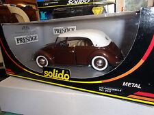 1/18 SOLIDO VW COCCINELLE CABRIOLET AVEC CAPOTE NEUF EN BOITE