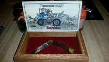 Limited Edition Ghost Rider by David Mann Buck 110 knife Easyriders Biker Art
