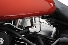 Chrome EFI Fuel Line Fitting Cover For Harley Touring Dyna Super Glide EFI FXDI